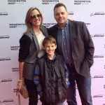 Dan & family at the On The Wing premiere - Washington West Film Festival (October 2015)
